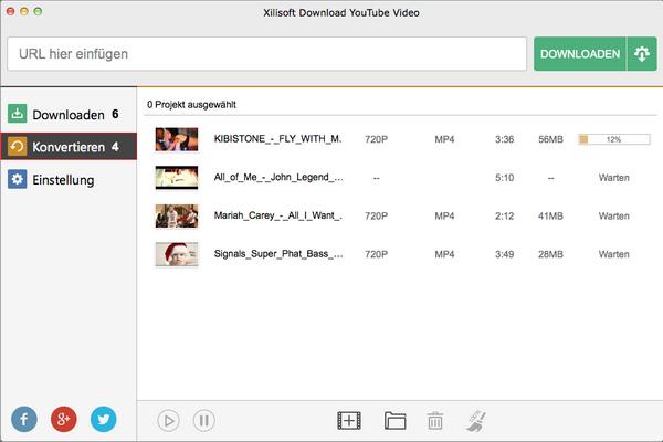 Xilisoft YouTube Video Converter for Mac