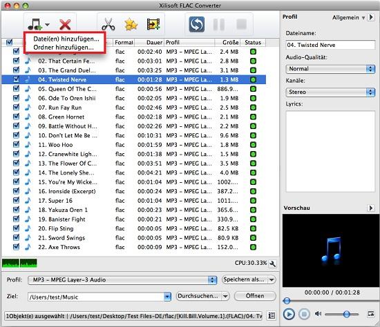 flac umwandeln mac, flac converter mac anleitung