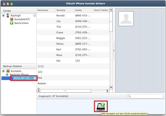 iphone kontakt sichern mac - iphone kontakt transfer mac