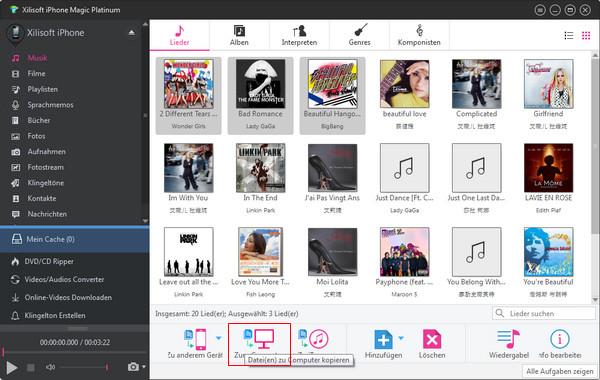 iPhone Dateien auf PC umwandeln und kopieren