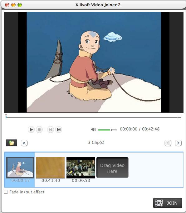 Xilisoft Video Joiner for Mac- Mac Video zusammenfügen